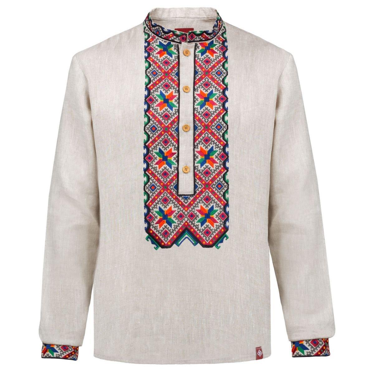 Сорочка чоловіча вишиванка Фолк мода (730) XXL 1c184aacea528