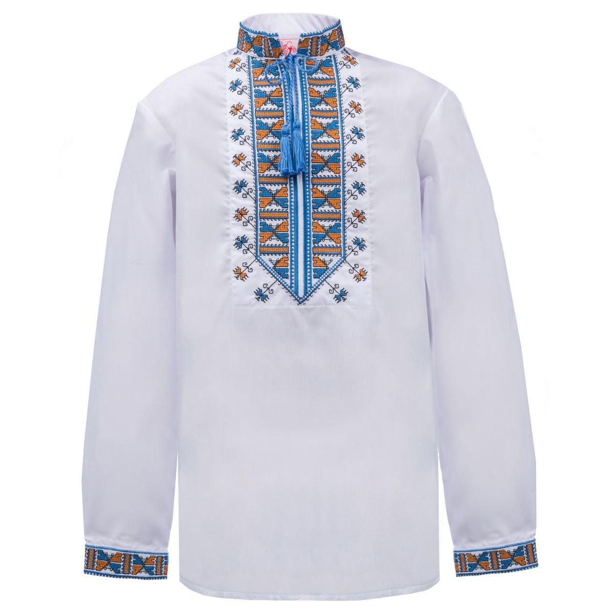 374f55feb896cf Folkmart™   Сорочка вишиванка для хлопчика Слобожанка - Гетьман