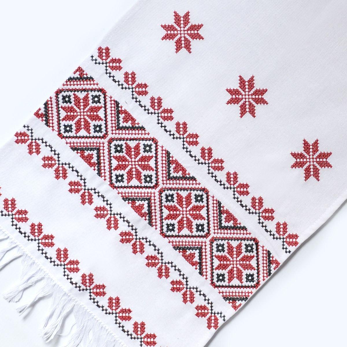 Рушник вишиваний обрядовий Слобожанка - Лілея (36см х 200см) 001e3f0294009