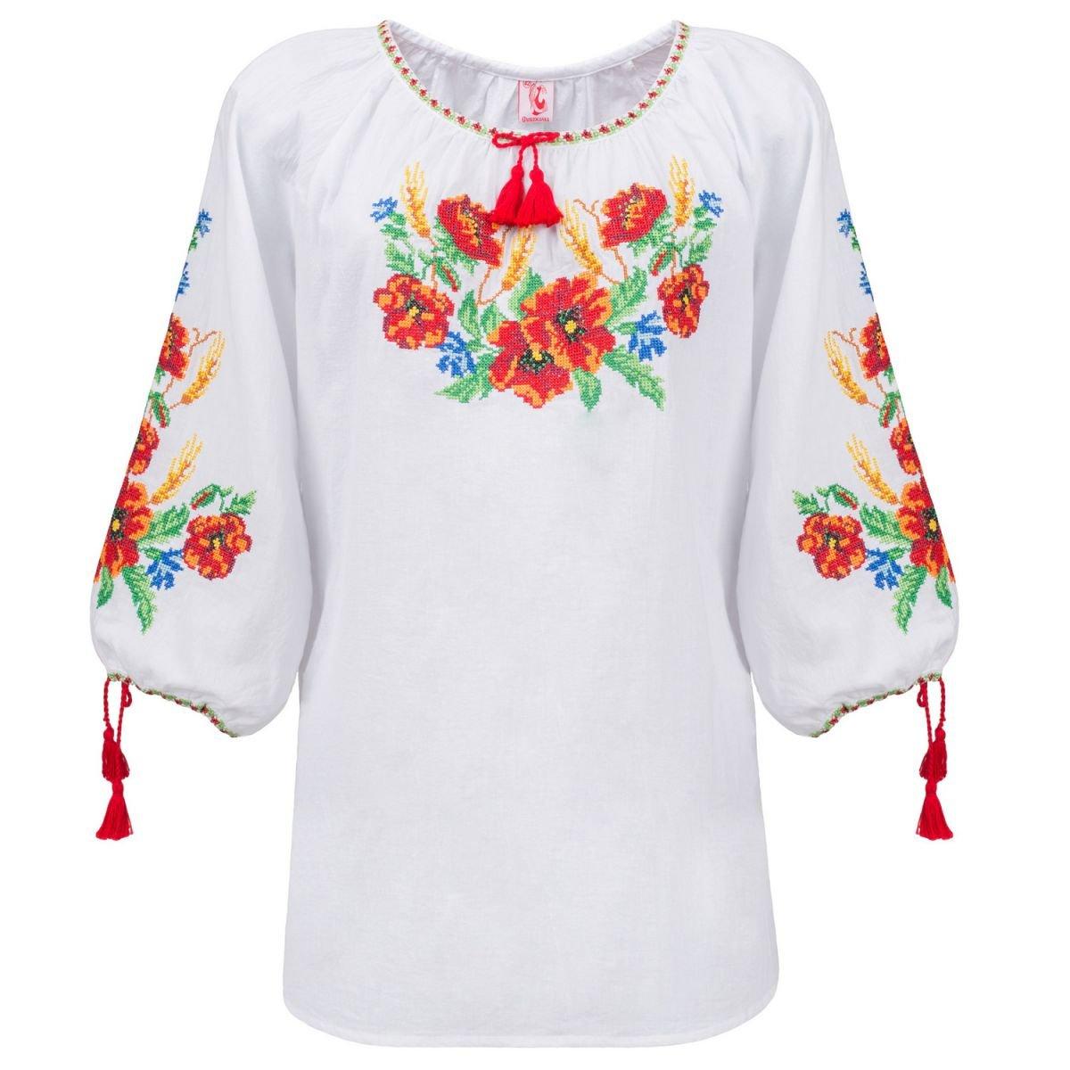 Женская блуза вышиванка Слобожанка - Карпатский винок 42 1e9f99ac42492