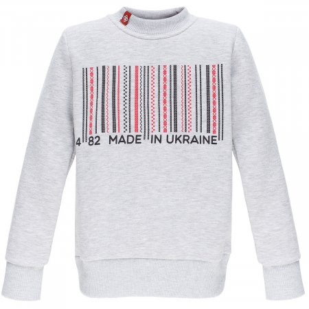 Свитшот детский Фолк мода - Made in Ukraine (FM211С) 146