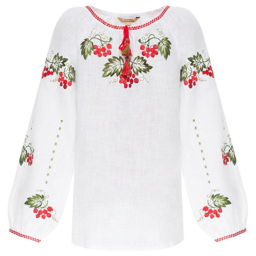 Сорочка вишиванка для дівчинки Гармонія - КАЛИНА БЕРЕГИНЯ 122 7c874a9662c93
