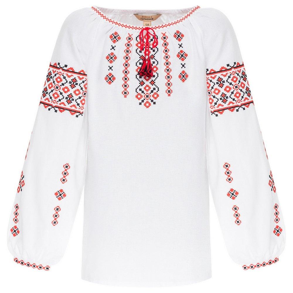Сорочка вишиванка для дівчинки Гармонія - УКРАЇНОЧКА 86 f4691247fb59c