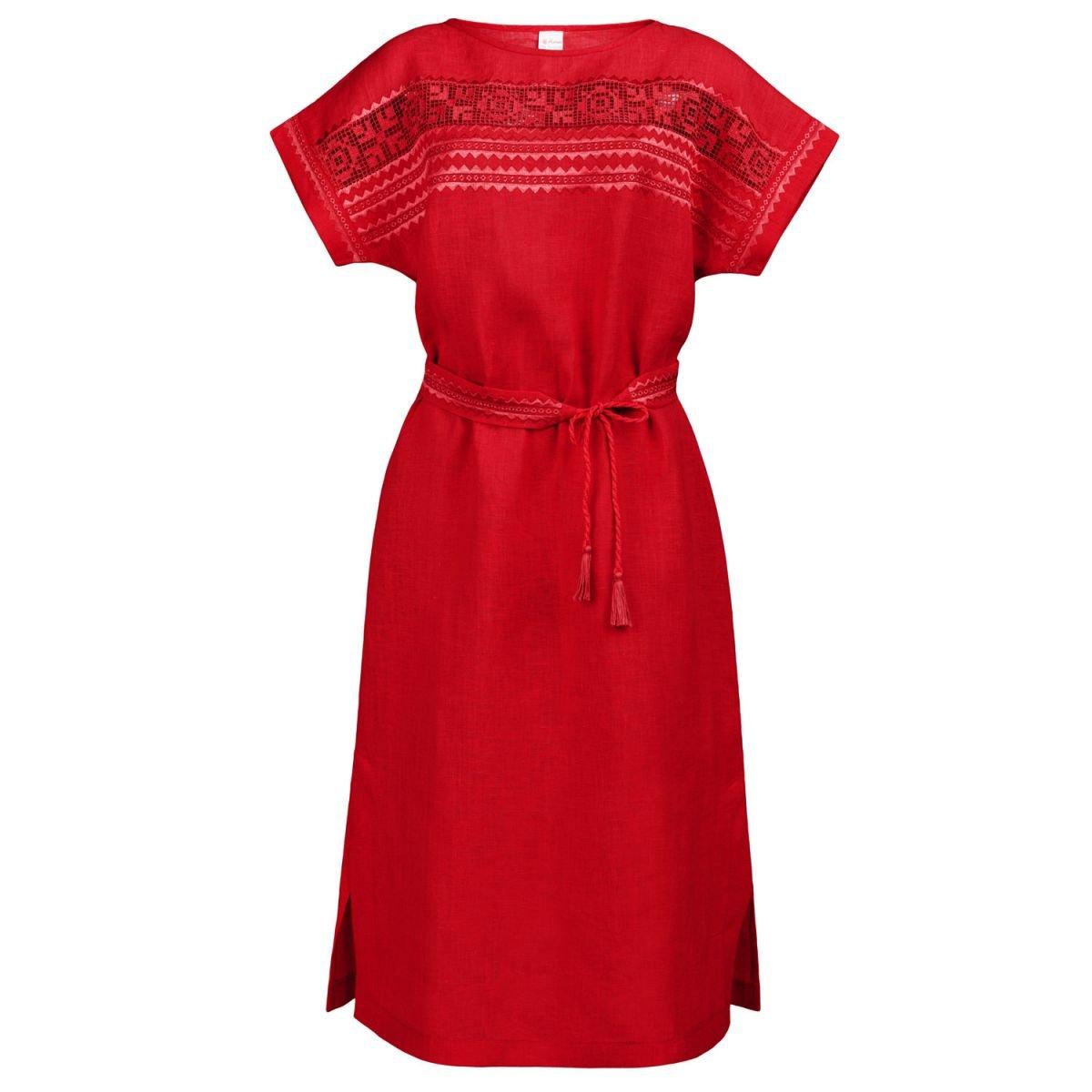 Плаття вишиванка Колос - Мережка (чер) 54-56 ae627cec9c14f